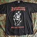 "Sad Ex ""We Are Death Fukk You"" 1993 tshirt"