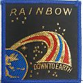 Rainbow - Down to Earth [Blueborder, Square, Mint]