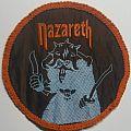 Nazareth - Patch - Nazareth - No Mean City [Orangeborder, Circle, Used]