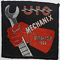 UFO - Mechanix British Tour 1982 [Blackborder, Near Mint]
