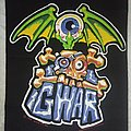 GWAR vintage Back patch