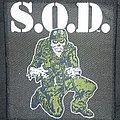 S.O.D. - Patch - Sargent D patch