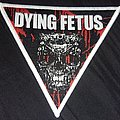 Dying Fetus triangle skull patch