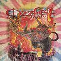 Ozzfest 2002 tie-dyed t-shirt