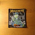 Megadeth - Holy Wars Vintage Patch