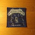 Metallica - Patch - Metallica - Ride The Lightning Vintage Patch