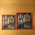 Slayer - Patch - Slayer - Reign In Blood (Red Border)