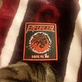 Enforcer - Patch - Enforcer - Death By Fire (Red Border)