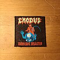 Exodus - Fabulous Disaster (Vintage Patch)