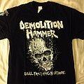 Demolition Hammer - TShirt or Longsleeve - Demolition Hammer - The Whiskey SOLD OUT Shirt (2018)