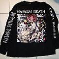 Napalm Death - Utopia Banished European tour longsleeve 1992 TShirt or Longsleeve