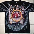 Slayer - Parental Advisory / Eagle logo t-shirt