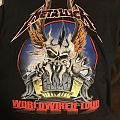 metallica tour t shirt