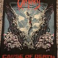 Obituary - Cause Of Death Backpatch