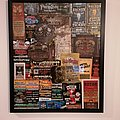 Framed festival tickets Other Collectable