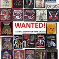 Jefferson Airplane - Patch - Wanted!
