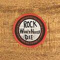 Black Sabbath - Patch - Rock Won't Never Die!