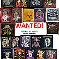Alice Cooper - Patch - Wanted!