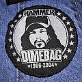 """Pantera """"Dimebag Tribute Metal Hammer UK"""" Patch"""