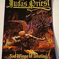 "Judas Priest ""Sad Wings"" Woven Backpatch"