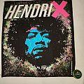 """Jimi Hendrix - Patch - Jimi Hendrix """"Face"""" Backpatch"""