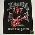 "Lemmy ""Stone Deaf Forever"" Backpatch"