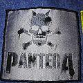 "Pantera "" Silver Skull"" Patch"