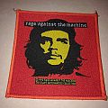 "Rage Against The Machine "" Yellow Che, Red Background, Red Border"" Patch"
