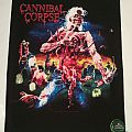"""Cannibal Corpse """"Eaten back to live"""" Backpatch"""