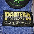 "Pantera ""101 Proof"" Patch"