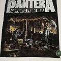 """Pantera """"Cowboys from Hell"""" Backpatch"""