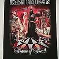 "Iron Maiden ""Dance Of Death"" Backpatch"