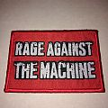 "Rage Against The Machine "" Red Logo "" Patch"