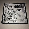 "Rage Against The Machine "" Battle of Los Angeles"" Patch"