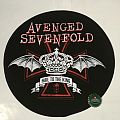 "Avenged Sevenfold - Patch - Avenged Sevenfold ""Hail To The King"" Round Backpatch"