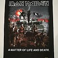 "Iron Maiden ""A Matter Of Live And Death"" Backpatch"
