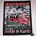"Bathory ""Shores In Flames"" Backpatch"