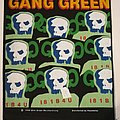 "Gang Green ""I81B4U "" Backpatch"