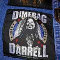 """Pantera - Patch - Pantera """"Dimebag Darrell Gold"""" Patch"""