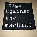 "Rage Against The Machine "" Logo 1994 "" Patch"