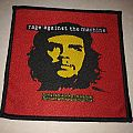 "Rage Against The Machine "" Yellow Che, Red Background, Black Border"" Patch"