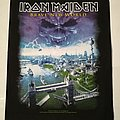"Iron Maiden ""Brave New World"" Backpatch"