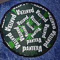 """Pantera """"Weed Logo round"""" Patch"""