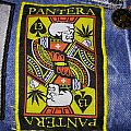 "Pantera ""Skull King Playing Card"" Patch Woven Bootleg"
