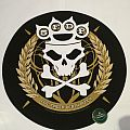 "Five Finger Death Punch ""Logo"" Round Backpatch"