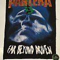 """Pantera """"Far beyond driven"""" Backpatch"""