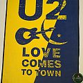 "U2 ""Love Comes To Town"" Backpatch"
