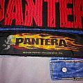 "Pantera ""Flamming Skull"" Stripe Patch"