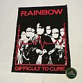 "Rainbow ""Difficult To Cure"" Mini Backpatch"