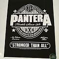 """Pantera """"Stronger Than All"""" Backpatch"""